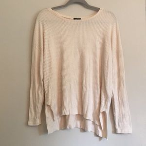 Long Sleeved high-low sweater